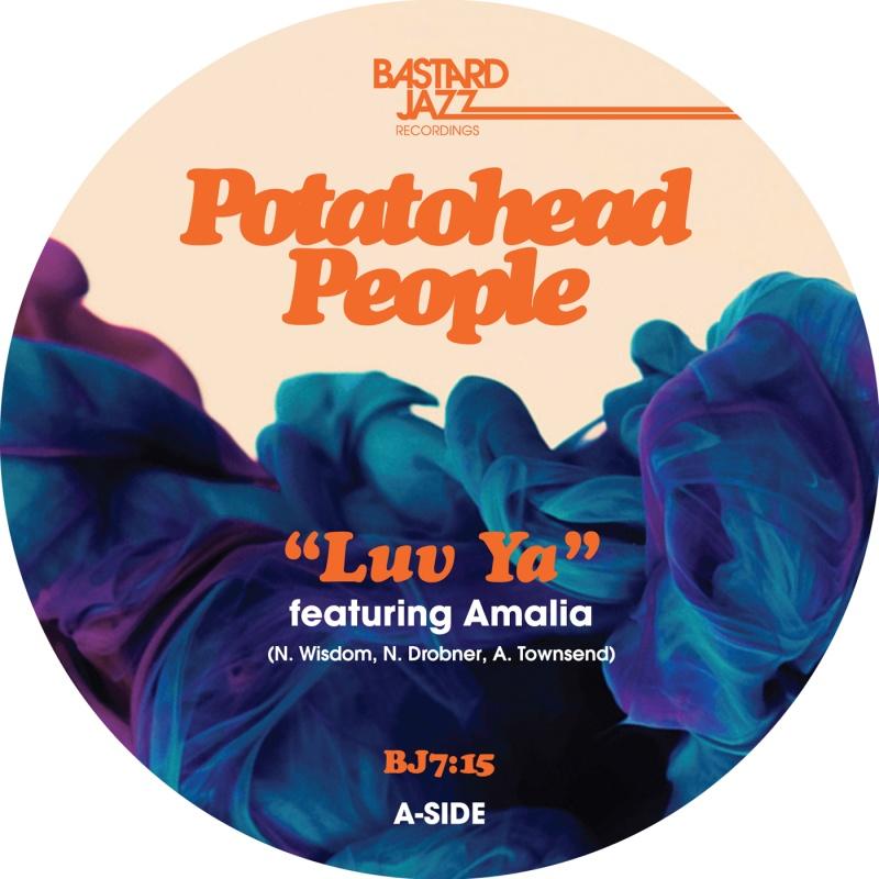 "Potatohead People/LUV YA & BLUE CHARM 7"""