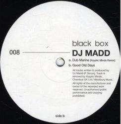 """DJ Madd/DUB MARINE-KRYPTIC MINDS RMX 12"""""""