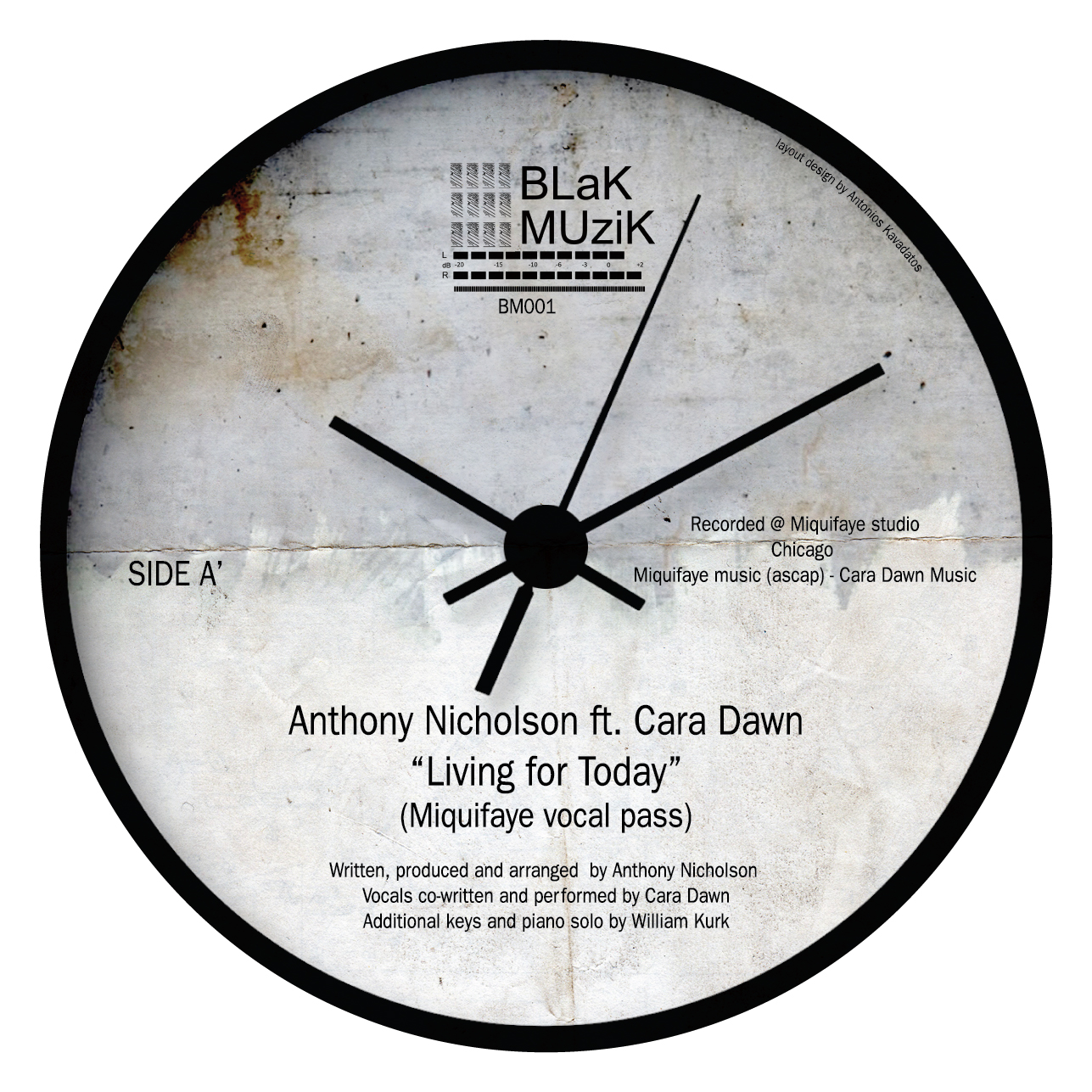 """Anthony Nicholson/LIVING FOR TODAY 12"""""""