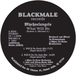 Mychaelangelo/WHAT WILL BE 12""