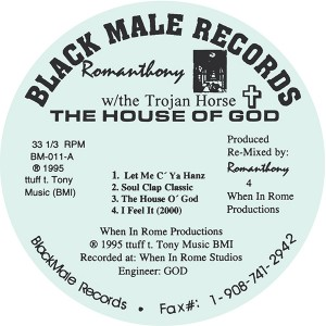 Romanthony/THE HOUSE OF GOD 12""