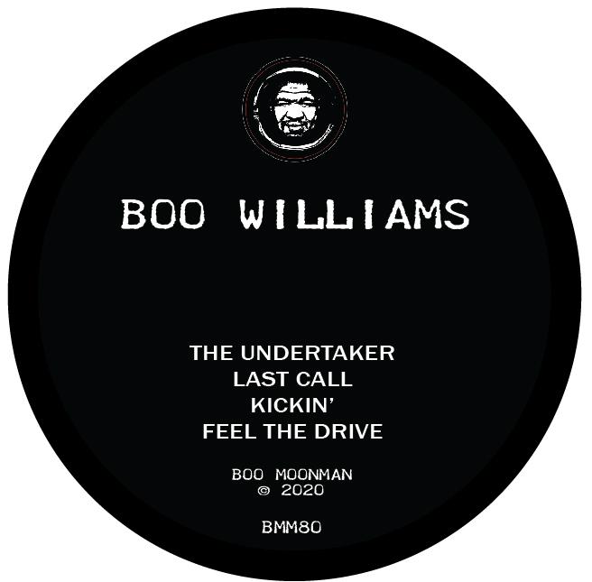 "Boo Williams/THE UNDERTAKER 12"""