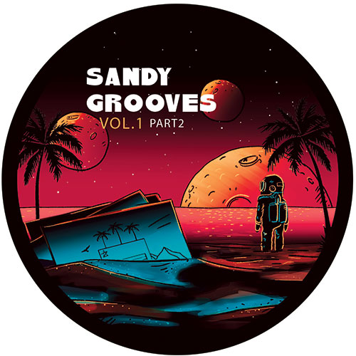 Various/SANDY GROOVES VOL 1 PT 2 12""