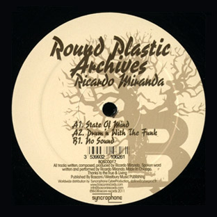 "Ricardo Miranda/ROUND PLASTIC 12"""