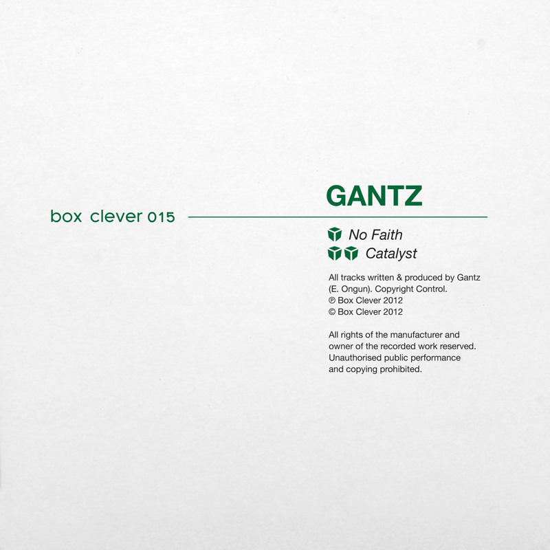 Gantz/NO FAITH 10""