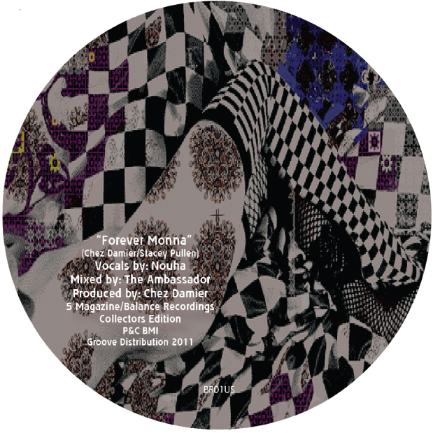 Chez Damier/FOREVER MONNA&YOUR LOVE 12""