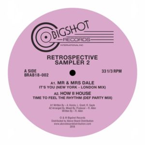 Various/BIGSHOT RECORDS SAMPLER 2 12""