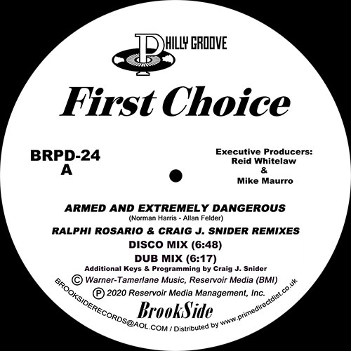 First Choice/ARMED.. (R ROSARIO RMX) 12""