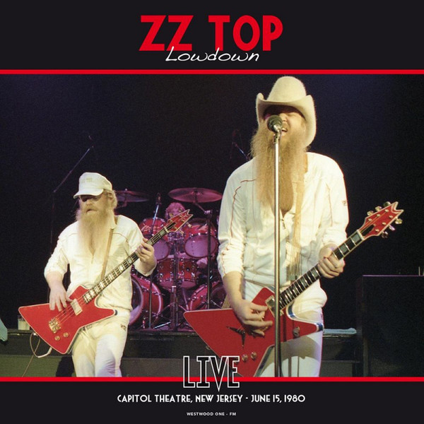 ZZ Top/LOWDOWN: LIVE NEW JERSEY 1980 LP