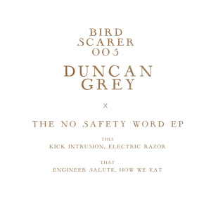 """Duncan Gray/THE NO SAFETY WORD EP 12"""""""