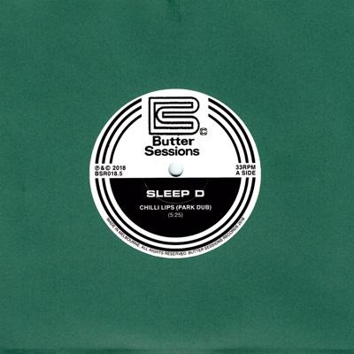 """Sleep D/CHILLI LIPS (PARK DUB) 7"""""""