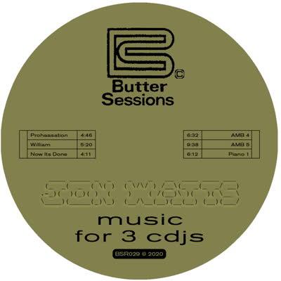 "Jon Watts/MUSIC FOR 3 CDJS 12"""