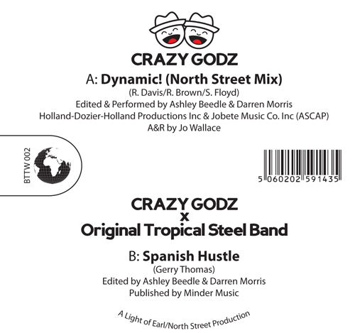 Crazy Godz/DYNAMIC! 12""
