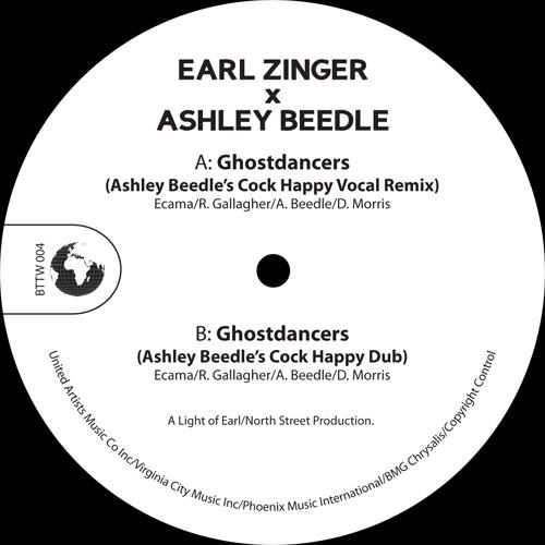 """Zinger & Beedle/GHOSTDANCERS REMIXES 12"""""""