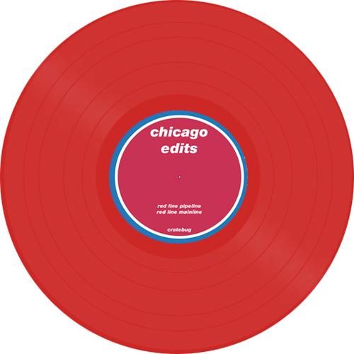 "Cratebug/CHICAGO: RED LINE EDITS 12"""