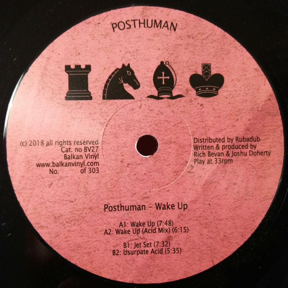 """Posthuman/WAKE UP 12"""""""