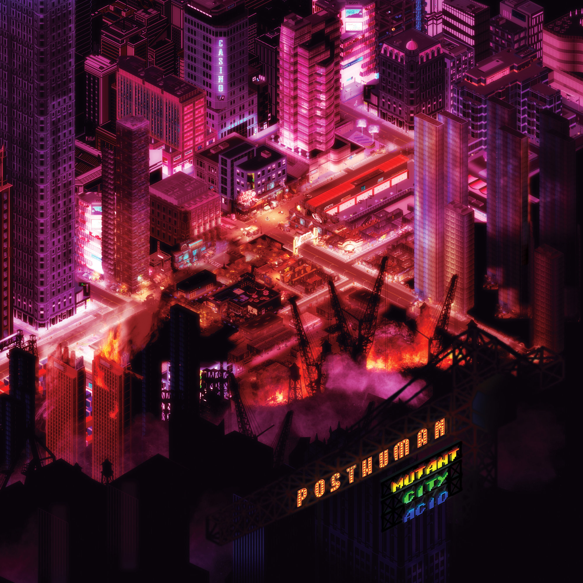 Posthuman/MUTANT CITY ACID DLP