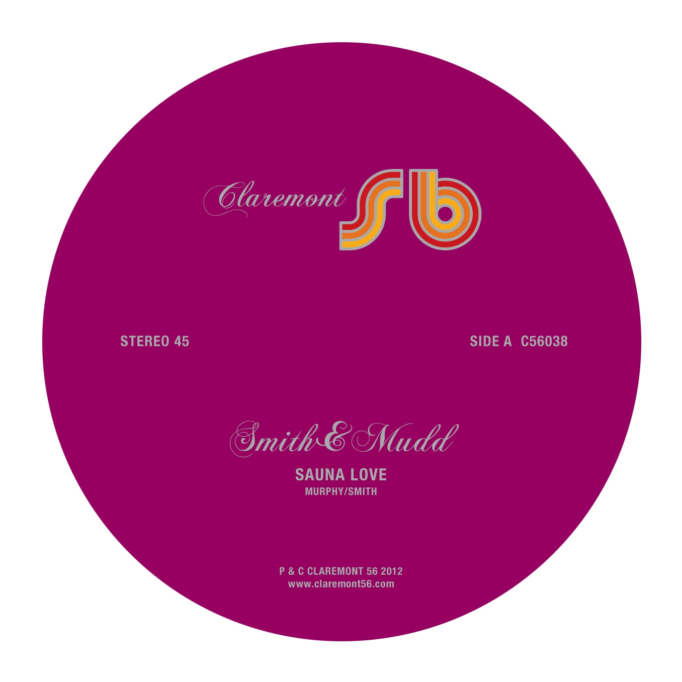 Smith & Mudd/SAUNA LOVE 12""