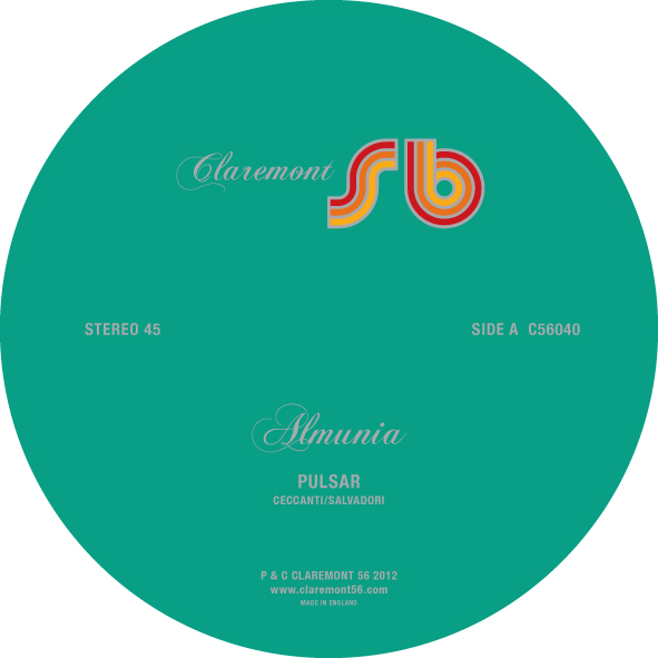 Almunia/PULSAR & THE MAGICIAN 12""