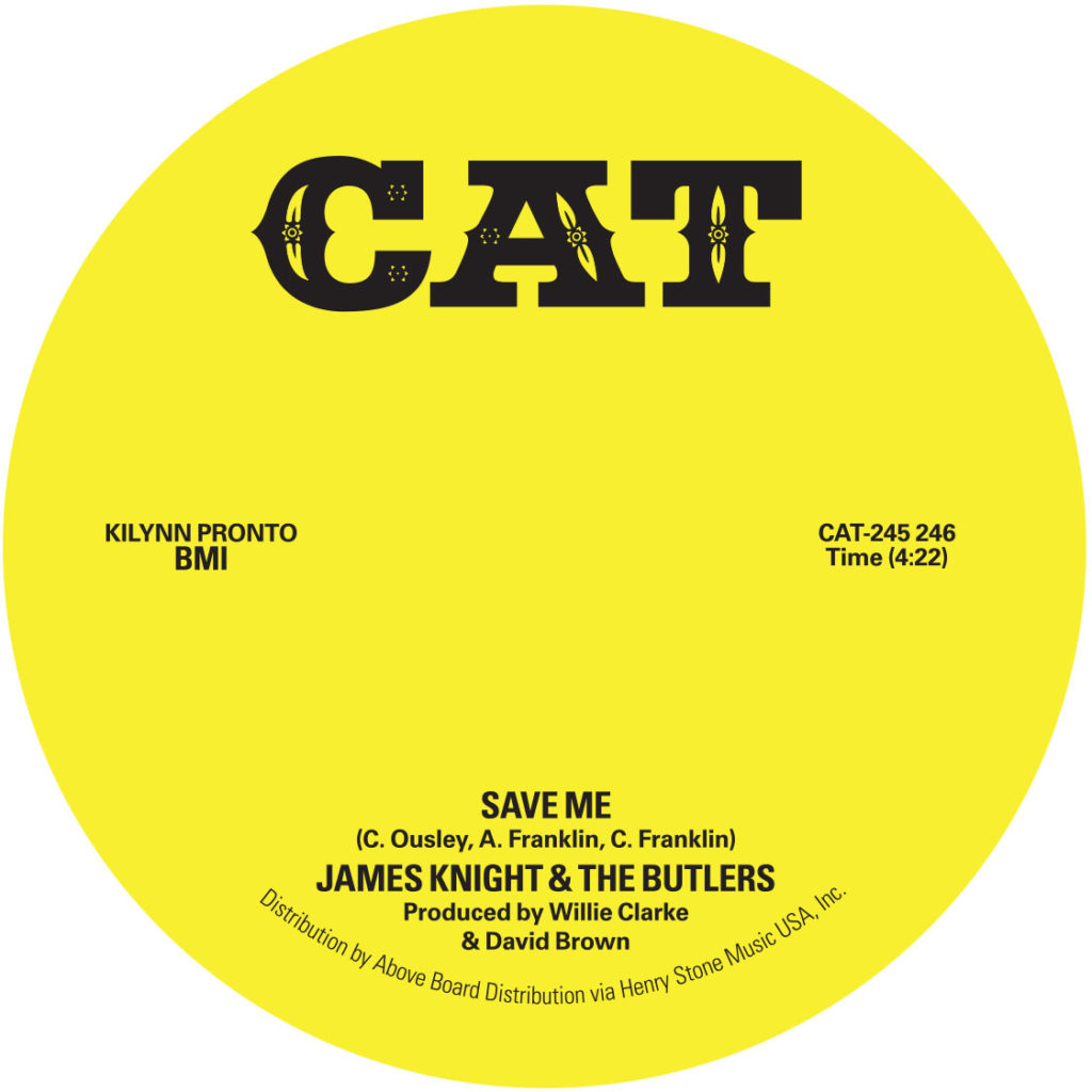 James Knight/SAVED ME 7""