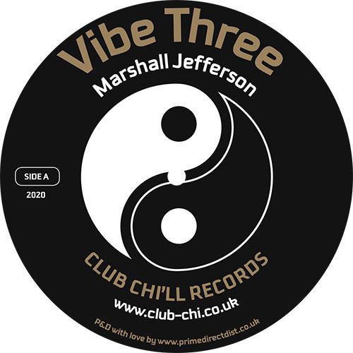 """Marshall Jefferson/VIBE THREE 12"""""""