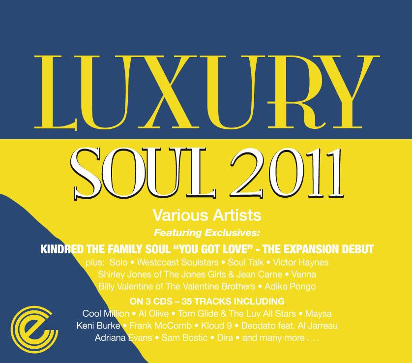 Various/LUXURY SOUL 2011 3CD