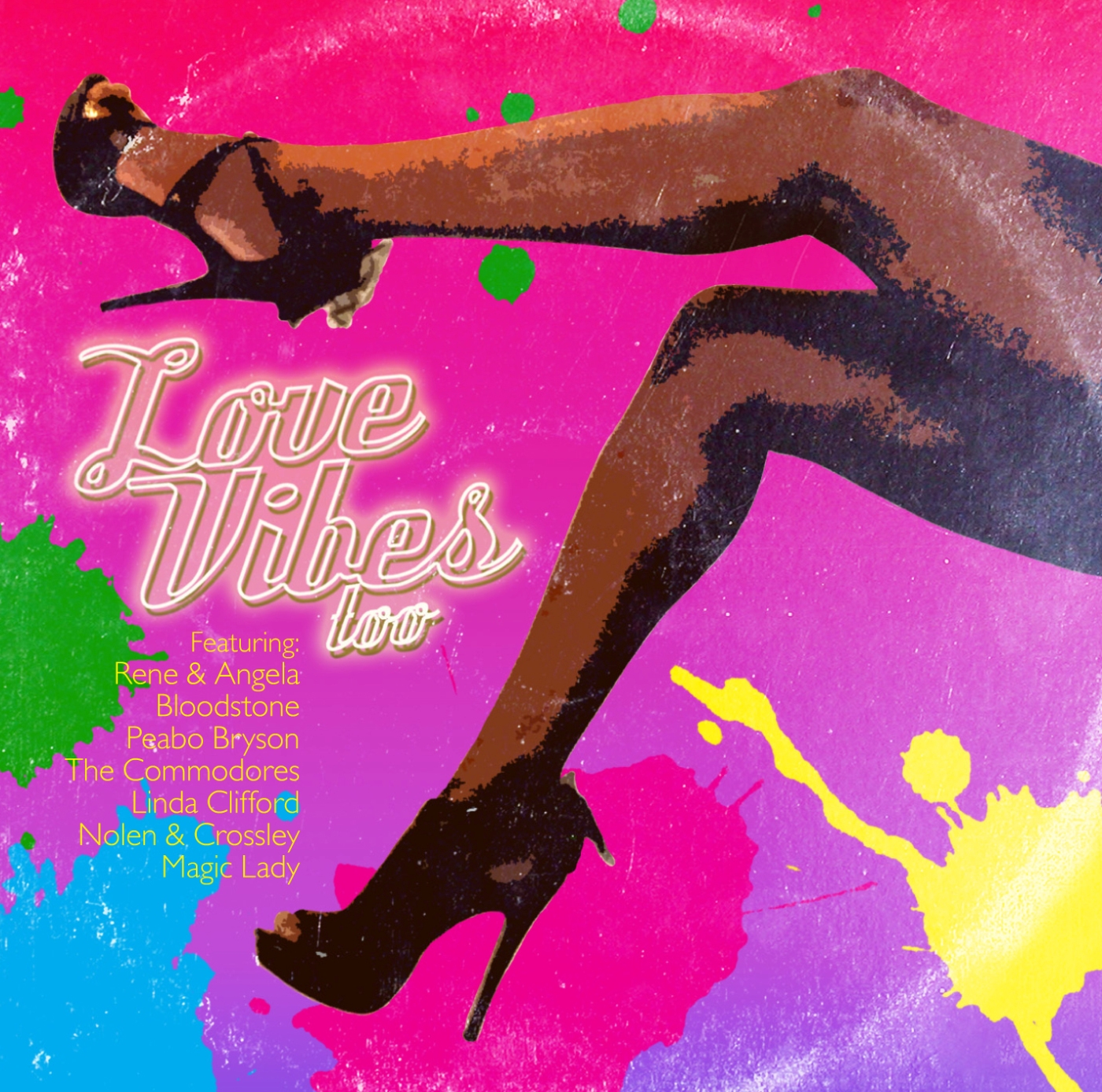 Various/LOVE VIBES TOO  CD