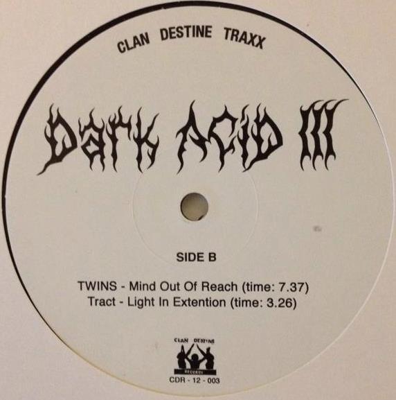 "Various/DARK ACID #3 12"""