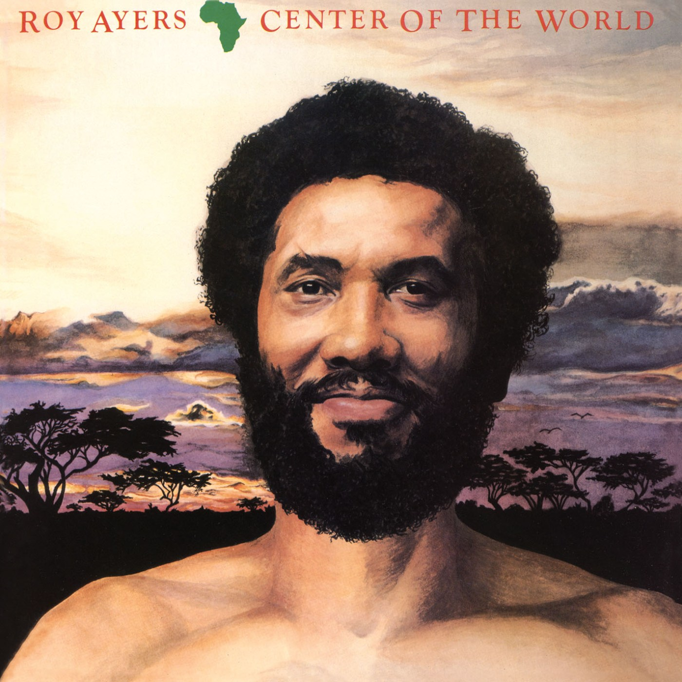 Roy Ayers/AFRICA, CENTER OF THE WORLD CD