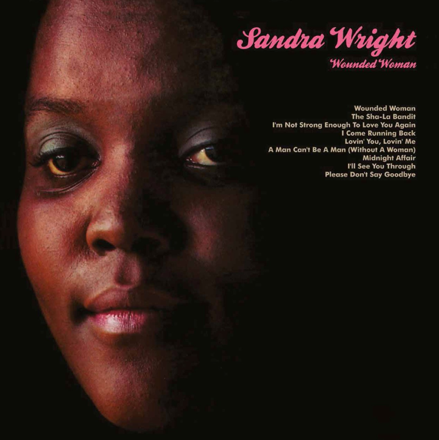 Sandra Wright/WOUNDED WOMAN CD