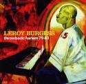 Leroy Burgess/THROWBACK: HARLEM 79-83 CD