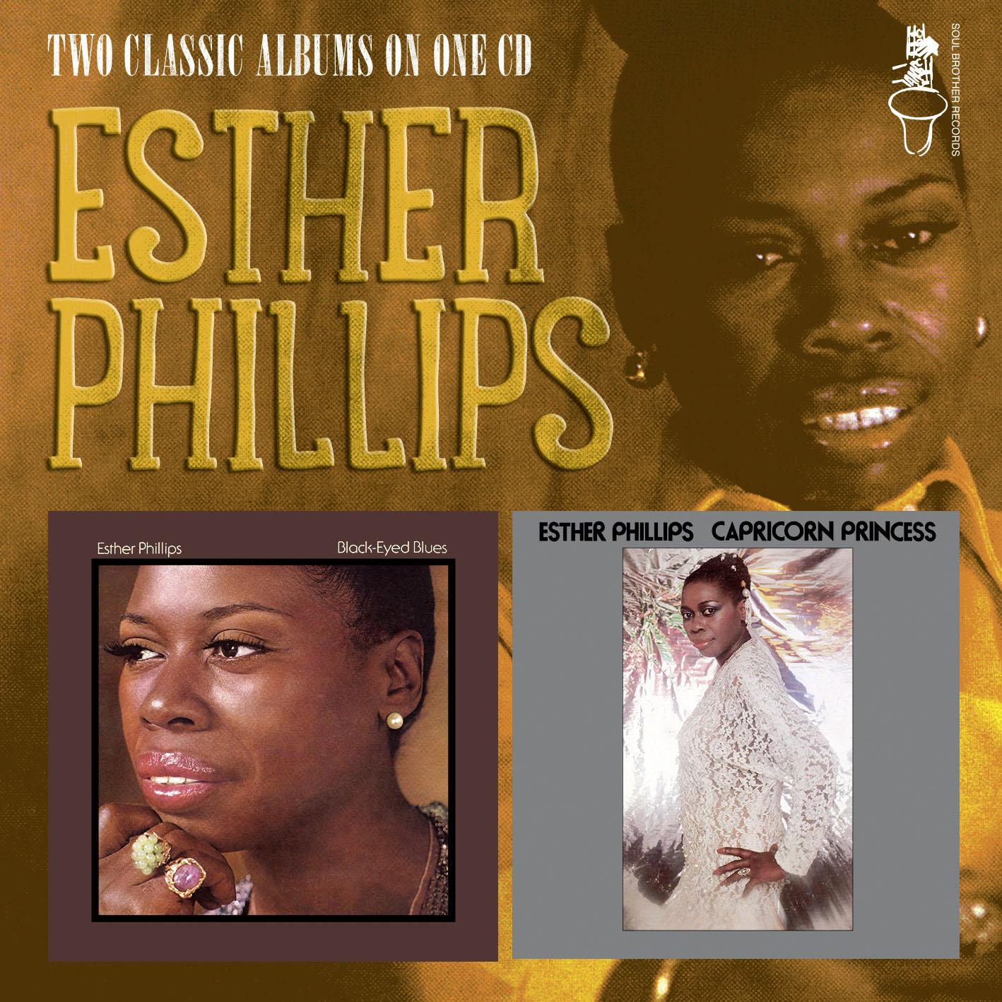 Esther Phillips/BLACKEYED & CAPRICORN CD