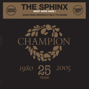 """Sphinx/WHAT HOPE HAVE I 12"""""""