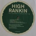 "High Rankin/NO MONEY FOR GUNS EP 12"""