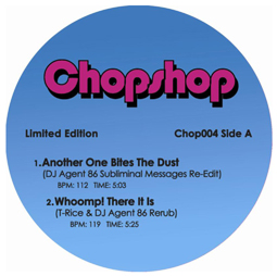 Chopshop/VOL. 4 EP (BLUE) 12""