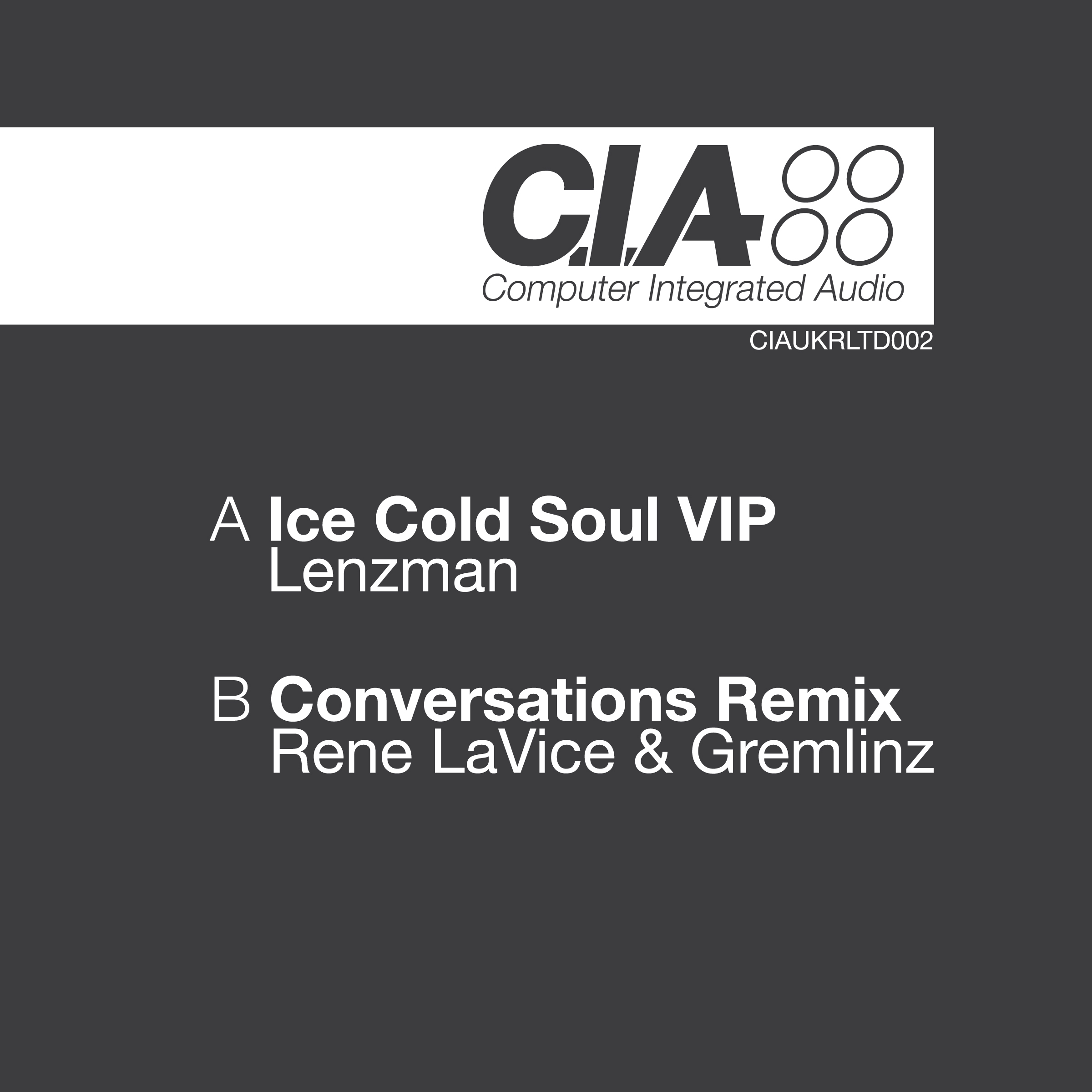 Lenzman & Switch/ICE COLD SOUL VIP 12""