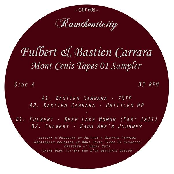 """Fulbert/MONT CENIS TAPES 01 SAMPLER 12"""""""