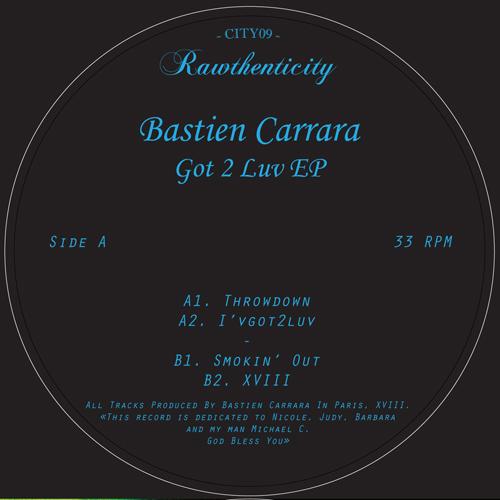 "Bastien Carrara/GOT TO LUV EP 12"""
