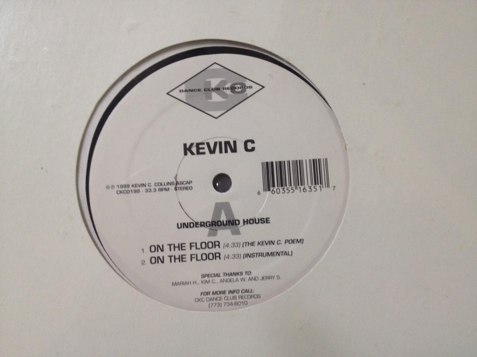 "DJ Kevin C./ON THE FLOOR 12"""