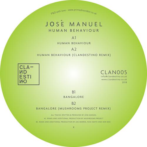 """Jose Manuel/HUMAN BEHAVIOUR 12"""""""