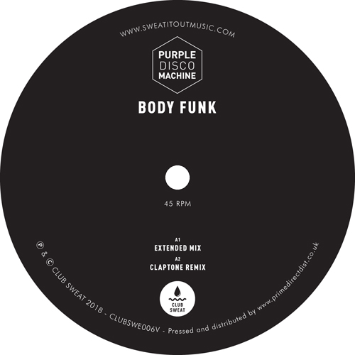 Purple Disco Machine/BODY FUNK RMX'S 12""