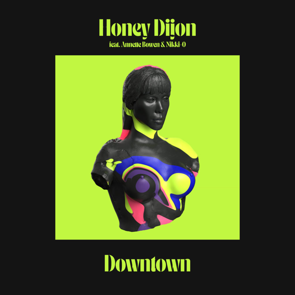 Honey Dijon/DOWNTOWN (LOUIE VEGA RX) 12""