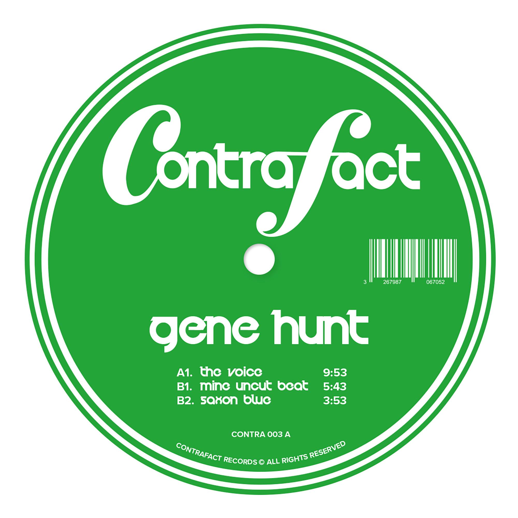 """Gene Hunt/FEEL MY SOUL 12"""""""