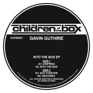 "Gavin Guthrie/INTO THE BOX EP 12"""