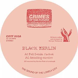 """Black Merlin/FULL DENIM JACKET 12"""""""