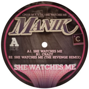 """Manik/SHE WATCHES ME 12"""""""