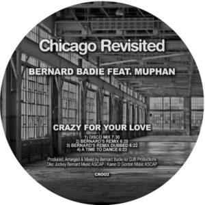 Bernard Badie/CRAZY FOR YOUR LOVE 12""