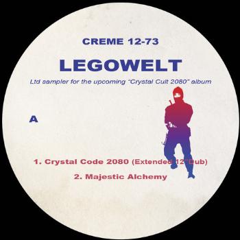 """Legowelt/CRYSTAL CULT 2080 SAMPLER 12"""""""