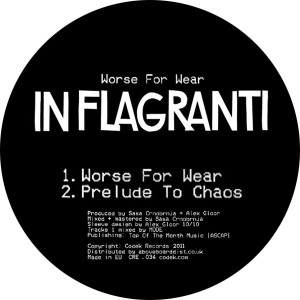 """In Flagranti/WORSE FOR WEAR SMPLR 1  12"""""""