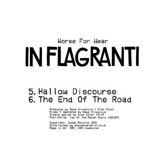 """In Flagranti/WORSE FOR WEAR SMPLR 2  12"""""""